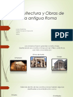Arquitectura y Obras de La Antigua Roma