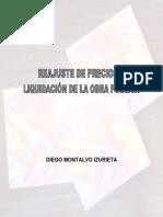 Reajuste de Precios y Liquidacion de La Obra Publica PDF