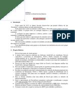 Projeto Eletrotécnica Predial AV2
