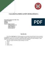 Taller Planificacion Estrategica