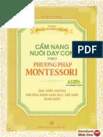Cẩm Nang Nuôi Dạy Con Theo Phương Pháp Montessori pdf – sách nuôi dạy con