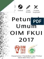 Guideline OIM FKUI 2017