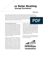 Alaska Passive Solar Heating Factsheet