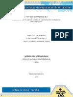Evidencia 5 Informe Sobre La Consulta de Estandarizacion vs Adaptacion Enfoque Producto (1) (1)