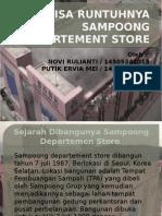 Analisa Runtuhnya Sampoong Departement Store