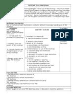 final teaching plan