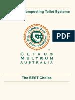 Clivusmultrum Composting Toilets Booklet