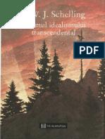 F. W. J. Schelling-Sistemul Idealismului Transcendental-Humanitas (1995)