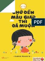 Chờ Đến Mẫu Giáo Thì Đã Muộn pdf - sách nuôi dạy con nên đọc