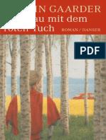 Die Frau Mit Dem Roten Tuch - Jostein Gaarder