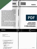 O MELODRAMA - JEAN-MARIE THOMASSEAU.pdf
