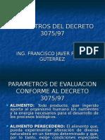 02.Parametros Decreto 3075