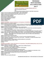 EM 2017 Programa