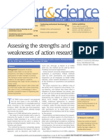 Strengths and Weaknesses of Action Research