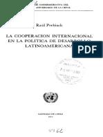 Ensayo de Cooperacion Internacional