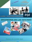 La Ergonomia Trabajo en Oficinas