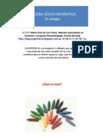 Prueba Lexico-semantica El Colegio P-1