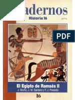 Cuadernos Historia 16, nº 016 - El Egipto de Ramsés II.pdf