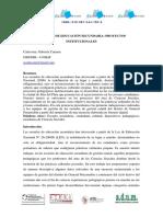 ESCUELAS DE EDUCACIÓN SECUNDARIA