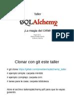 Taller SQLAlchemy
