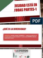 PPT Diversidad Para Trabajar en Clases 1