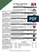 4.23.17 Minor League Report