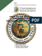 Analisis Estrategico de Cruz Del Sur
