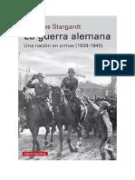 Conseguir Un Libro La Guerra Alemana by Nicholas Stargardt