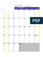 Calendario-2017 Feriados Chile