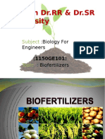 Biofertilizers Slide Share Ssk