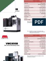 VMC1100B 12K RPM ProductSheet