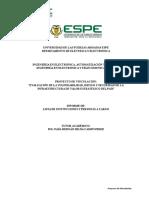 Lista de Instituciones, Autoridades y Estudiantes a Cargo