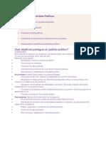 Funciones de Los Partidos Políticos