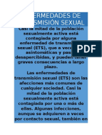 Ciencias de La Salud Fermedades de Transmision Sexual