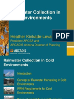 Rainwater Collection in Cold Environments