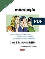 Conseguir Un Libro Rumorologia by Cass r Sunstein
