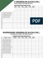 Inversiones Generales Alicia e