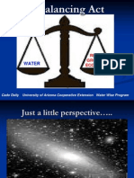 A Balancing Act - Areas of Physical and Economic Water Scarcity