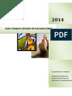 Guia Trabajo Seguro Excavación ABRIL 2015