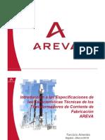 Caracteristicas Tecnicas Transformadores de Corriente Areva