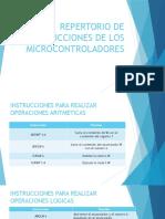 Repertorio de Instrucciones de Los Microcontroladores
