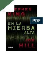 Conseguir Un Libro en La Hierba Alta Flash by Stephen King Joe Hill