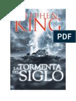 Conseguir Un Libro La Tormenta Del Siglo by Stephen King