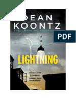 Conseguir Un Libro Lightning by Dean Koontz