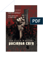 Conseguir Un Libro Paciente Cero by Jonathan Maberry