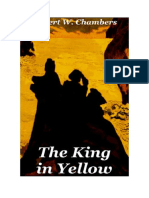 Conseguir Un Libro the King in Yellow by Robert w Chambers