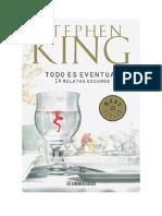 Conseguir Un Libro Todo Es Eventual by Stephen King