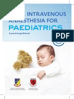 TIVA Paediatrics 2016 Booklet 1st Edition