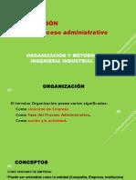 11. ORGANIZACION. Fase Proceso Administ.