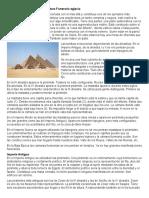 Pirámides de Egipto y Arquitectura Funeraria Egipcia